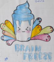 Brain freeze by expectatinqs