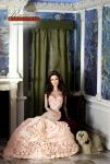 Jaclyn Smith in a Regent Miniatures Roombox by farrahlfawcett