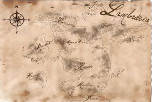Lambadria Map by Shenim