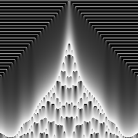 Continuous Cellular Automata k=2.9268293 h=511.0 by hektor41