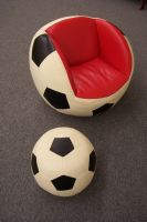 Soccer ball child's chair by paintresseye