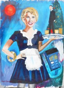 Kylie Minogue as Astrid Peth by Paulstered