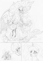Talking about Celestia by leovictor
