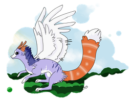 Eamane the Dracavian by CrossHound213
