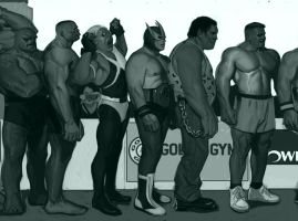 Strongman Competition Middle Wip 2 by FUNKYMONKEY1945