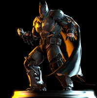 Batman XE Suit by Yare-Yare-Dong