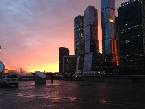 Moscow city by Dorat79