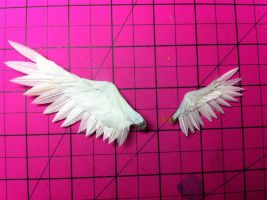 Completed angel wings by ThirdDimensionAlters