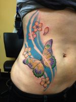 Butterfly by tat2shippey