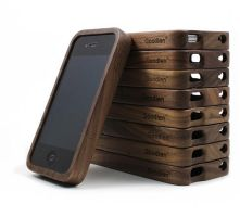 walnut-wood-iphone4-4s-case by tracylopez