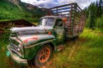 Old Work Truck by k-n-8