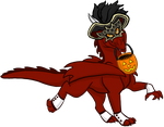 Masked Dragon Contest Entry by DragonsFlameMagic