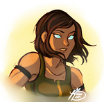 Bend it like Korra by naomi-makes-art73
