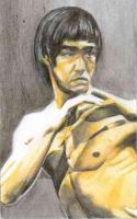 Bruce lee by Thiagokakashi