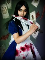 alice bluedress by michivvya