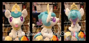 Baby Princess Celestia Fan Art Plushie by CatNapCaps
