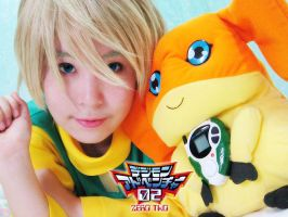 Digimon 02 - Takaishi Takeru by r-kira