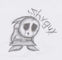 Mario Creepy Enemies #2: Shy-Guy by nick3529