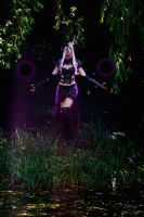 Syndra Cosplay: Run, playthings by Hanuro-Sakura