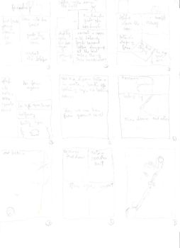 Storyboard for my doujinshi by briantk2003