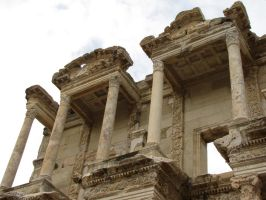 Ephesus Library by VapourNZ