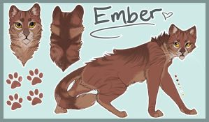 A GAZE OF EMBER | Ember by MagaSushi