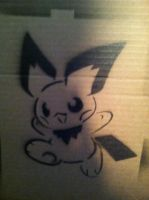 Pichu Stencil Test by sfritts10