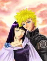 Naruto and Hinata by starlight15