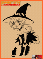 SBR - Ai Witch by uchuu-koneko