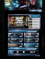 Gaming Host Web Design by daWIIZ