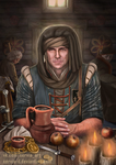 Morning in the tavern by Servia-D