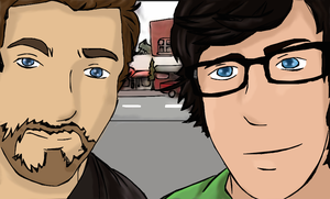 Rhett And Link by Greenland-Angelica-J