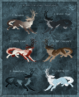 Adoptables - Deep Winter CLOSED by Mikaley