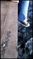 Lake-side graffitti. by RustyGonzo