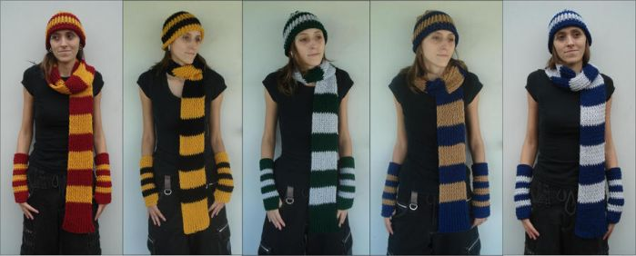 Harry Potter Winter Student Sets - All by RebelATS