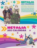 Hetalia 2011 Anime Calendar by peace-of-hope