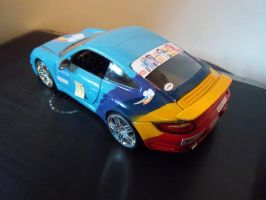 Rainbow Dash Porsche 911 Side by eaglehooves