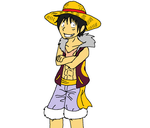 Luffy's Eternal Diva Arc Outfit by XfangheartX