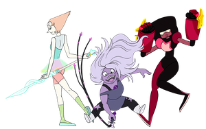 we are the Crystal Gems by pyrogina