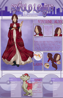 6XL Ladon NPC - Viviene Alys - The Pariah by J-Popsicle