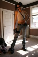Shelly Zombie Hunter Stock 10 by KINGZOMBIE-STOCK