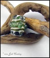 Lampwork Dreadlock Bead by Beadworx