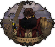 Blackbeard by mono22chrome
