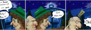 Doctor Who Comic Strip 1 by TheBigDaveC