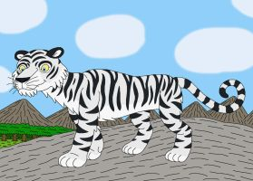 White Tiger by MCsaurus