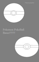 My Pokeball bases! by Cherrywind101