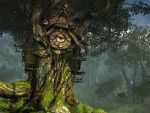 Fantasy forest background 1 by indigodeep