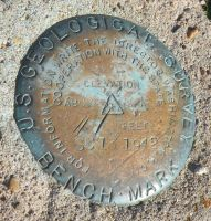 US Geological Survey Marker by DJCandiDout