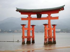 Miyajima Sea Arch, unaltered by firenze-design