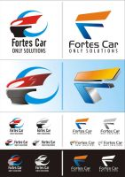 Logotipo Fortes Car Only Solut by cupulla